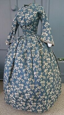 18TH CENTURY DRESS Boned Lace Up Bodice Costume Sewing