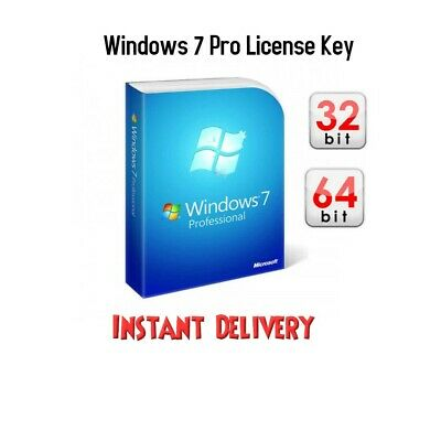 Windows 7 Pro key 100% ORIGINAL 32-64 Bit and Multi Language-Instant delivery