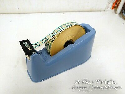 Photo Lab Twin Tape Dispenser ~ Used Working Well
