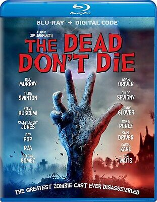 The Dead Don't Die Blu-ray Bill Murray NEW