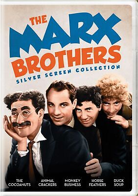 The Marx Brothers Silver Screen Collection DVD  NEW