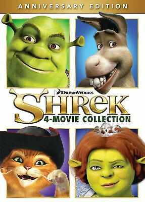 Shrek The 4-movie Collection DVD Mike Myers NEW