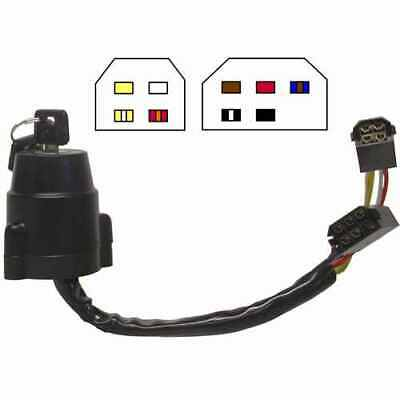 Hendler Ignition Switch Yamaha DT175MX, XT500 74-85 (9 Wires)