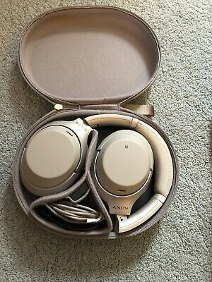 Sony WH-1000XM3  Noise Cancelling Headphones WH1000XM3 (Silver)