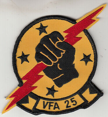 Vfa-25 Fist Of The Fleet Chest Patch