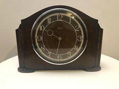 Smiths Wooden Mantle Clock Case - Spares & Restoration Made In Great Britain