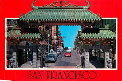 Picture Postcard:;San Francisco, Chinatown Gateway