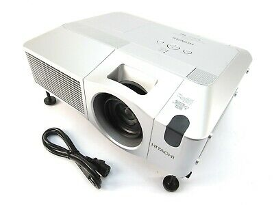 Hitachi CP-WX625 3LCD 4000 Lumens HD 1080i HDMI Projector 1907 Lamp Hours