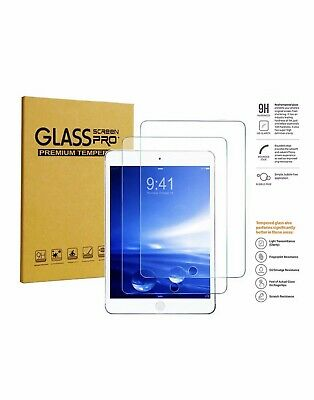 [2 Pack] Tempered GLASS Screen Protector for Apple iPad 6th Generation 2018
