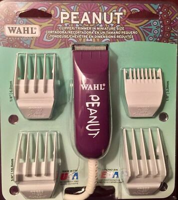 Wahl Professional Peanut Clipper / Trimmer ONE - BLACK COLOR