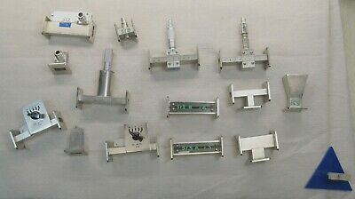 Microwave Trainer Student Teaching  WR-90 Waveguides 15 Pieces