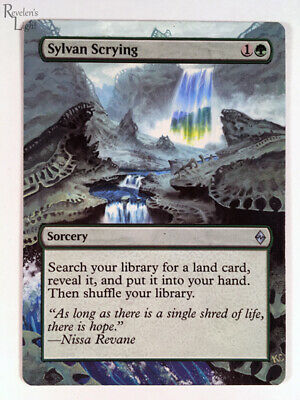MTG MAGIC THE GATHERING Sylvan Scrying x 4 - $1 00 | PicClick