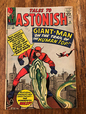 Tales to Astonish #55 Marvel Comics 1964 Giant-Man Wasp Silver Age COMB SHIP !