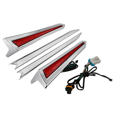 LED Saddlebag Extensions For Victory Cross Roads Country Tour Magnum Hard-Ball