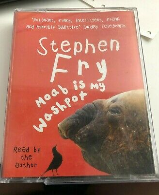 Moab Is My Washpot Stephen Fry Autobiography Two Cassette Audio Book