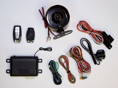 Audiovox Pursuit Pro100 Auto Car Alarm Security System & Vehicle Keyless Entry