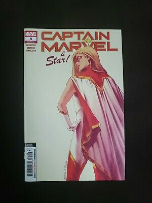 Captain Marvel #8  2Nd Print Carnero New Art Variant Marvel Comics Nm