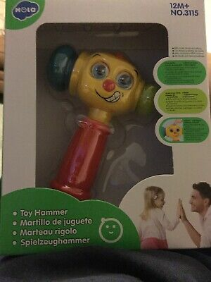 NEW HOLA Baby Toys Light Musical Baby Hammer Toy for 12M+ NO.3115