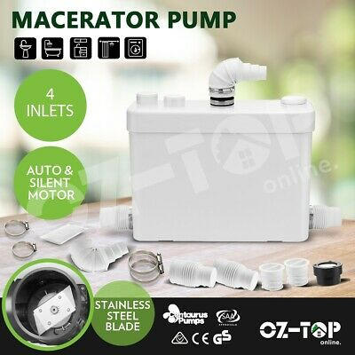 Macerator Sewerage Pump Bathroom Waste Water Marine Toilet Disposal Unit Laundry