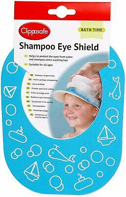 Clippasafe Shampoo Shield Children Kids Babies Eyes Protection Safety Washes New