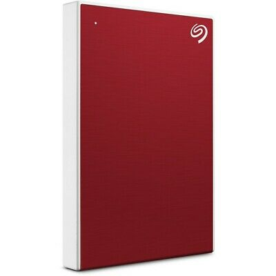 Seagate 4TB Backup Plus 2.5 Hard Drive - Red