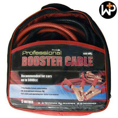 Professional 1000amp HD Jump Booster Cables 5M by Workshop Plus