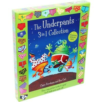 The Underpants 3-in-1 Collection