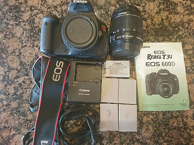 CANON T3I / 600D 18 0 MP SLR Camera With 18-55mm Lens Kit (2