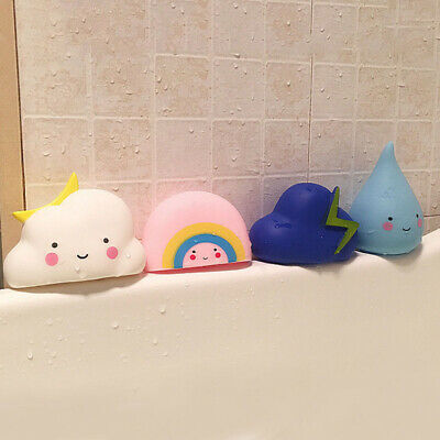 Hair Wash Tool Rubber Weather  Baby Bath Toys Bathtub & Swimming Pool Squeeze
