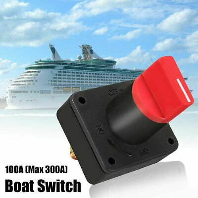 Car Max 300A Battery Isolator Master Disconnect Power Cut Off Kill Switch Boat