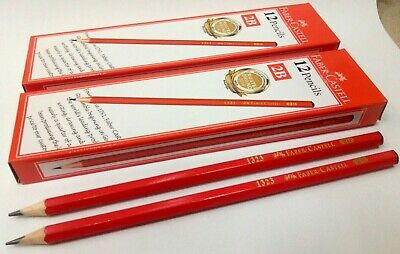 Made in Indonesia 3 Boxes 36 pcs Faber-Castell 3357-HB Blacklead Pencil