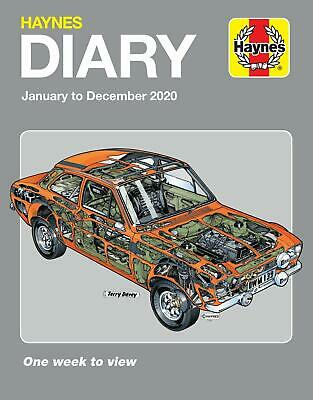 Haynes Diary 2020 ( January to December) smaller 18x23cm Ford mexico front