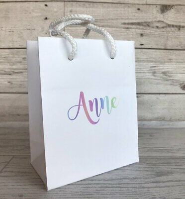 Small Personalised Luxury Gift Bag | Hen Party Bag | Stag Do Bag | Wedding Prop