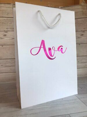 Large Personalised Luxury Gift Bag | Hen Party Bag | Stag Do Bag | Wedding Prop