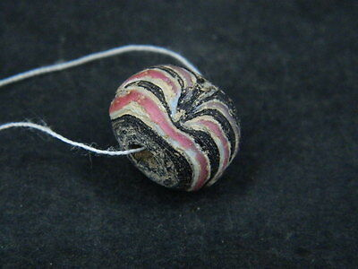 Ancient Glass Bead Italian 1600 AD #BE5032