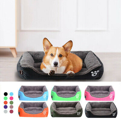 Pet Bed Soft Cozy Warm Dog Bed Plus Size Kennel for Large Dogs Cats UK Seller