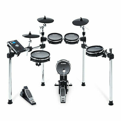 Alesis Command Eight-Piece Electronic Drum Kit with Mesh Heads, Command Advanced
