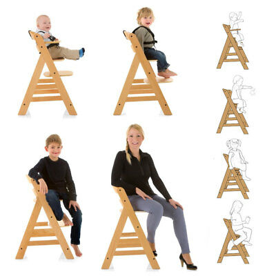 Hauck Alpha Wooden Highchair / Junior Chair