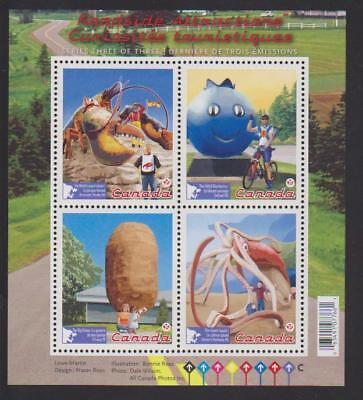 2011 SC# 2484 - Roadside Attractions-3 - Souvenir Sheet Lot# 36 M-NH
