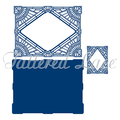 Tattered Lace Art Deco Card Shape Diamond (443678)
