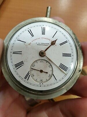 J. G. Graves. Sheffield. The Express English Lever. Watch Movement.