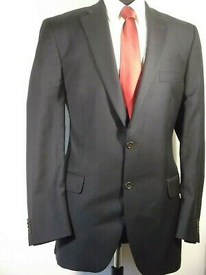 Peter Millar navy wool 2 button sport coat, 44T, dual vented excellent condition