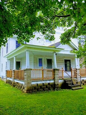 Large Finger Lakes NY Wine Trail Home with Barn - Gorham, NY