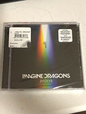 Imagine Dragons Evolve Cd Unopened Mint Condition