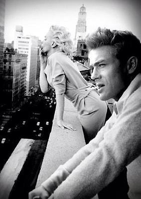 G-314 Marilyn Monroe James Dean Elvis Presley Star Fabric Poster 18 24x36 27x40