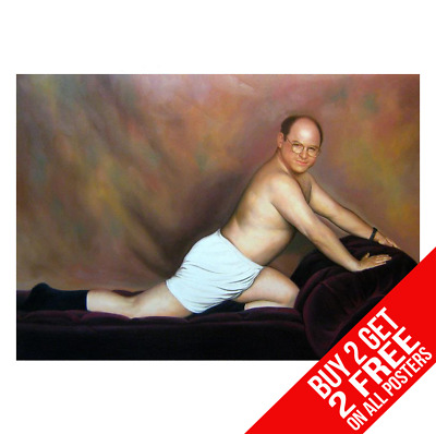 Seinfeld George Art Of Seduction Poster A4 A3 Size - Buy 2 Get Any 2 Free