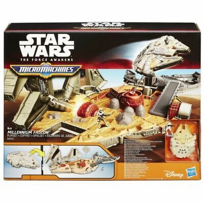 Micro Machines Star Wars The Force Awakens Millennium Falcon Playset B3533 - NEW