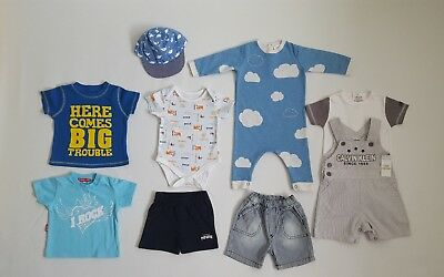Baby Boys Summer Bundle__3-6 M / EUR 68__incl. Next, Mothercare, Oh Baby London,