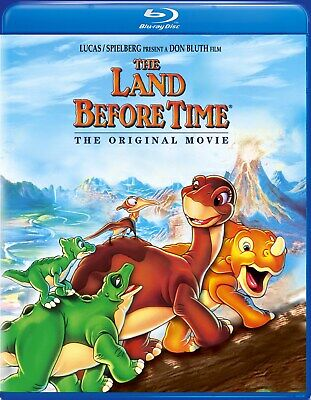 The Land Before Time Blu-ray Pat Hingle NEW
