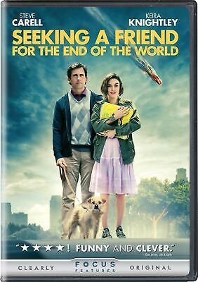 Seeking a Friend for the End of the World DVD  NEW